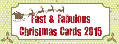 Sign Up for 14 Fast and Fabulous Christmas Card Ideas along with instructions, here
