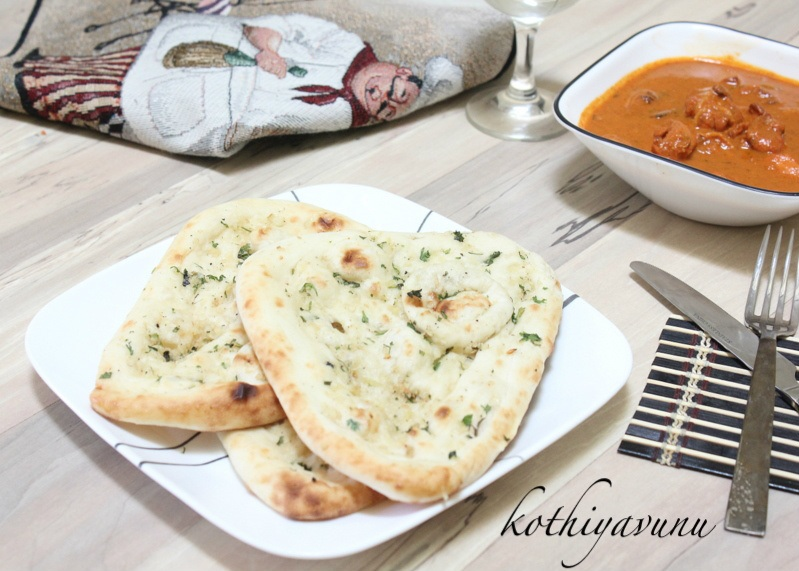Indian Garlic Naan Recipe – Homemade Garlic Naan Recipe