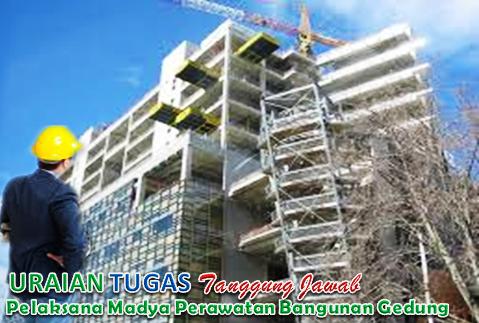 Uraian Tugas Pelaksana Madya Perawatan Bangunan Gedung
