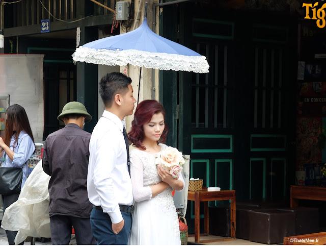 séance photo mariés Hanoi Vietnam