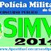 Inscrições Polícia Militar de GOIÁS para o SIMVE 2014 (APOSTILA)