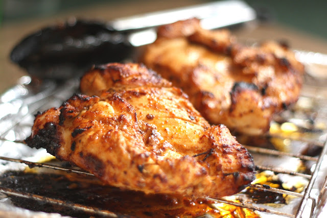Chipotle Chicken Marinade recipe by Barefeet In The Kitchen