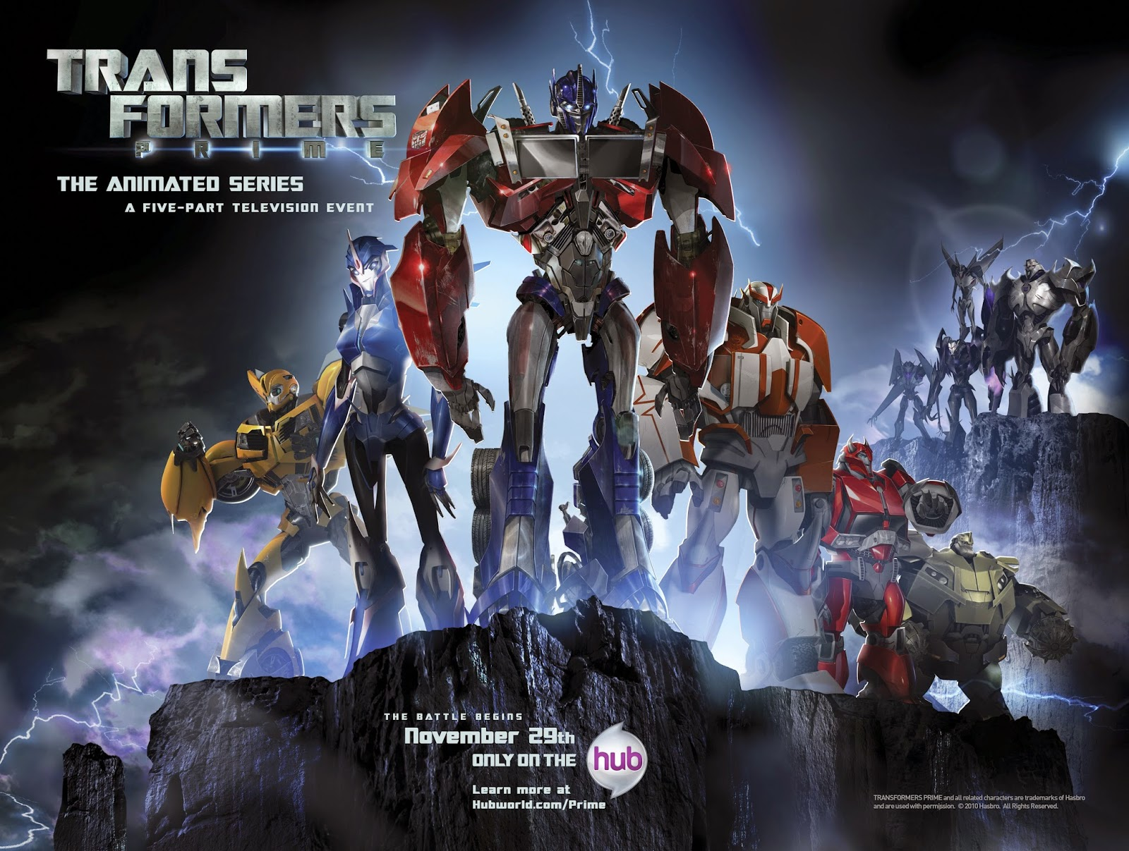 Transformers Prime (2010– ) ταινιες online seires xrysoi greek subs