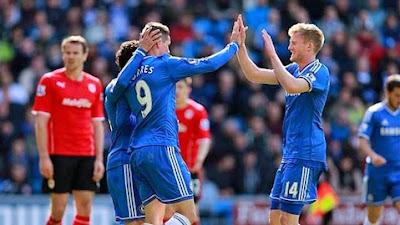 Cardiff City vs Chelsea (Vòng 38 Ngoại Hạng Anh 2013-2014)