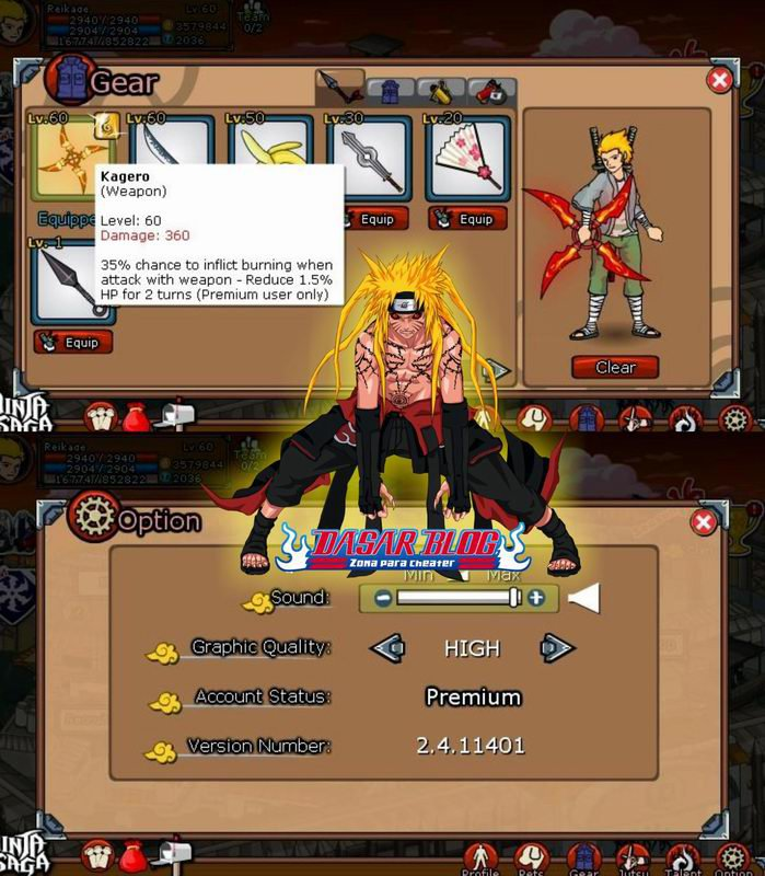 Cheat New Agm Atm And Emblem Ninja Saga Sumber Dasar Blog