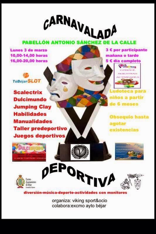 3/Marzo: II Carnavalada Deportiva. Bejar