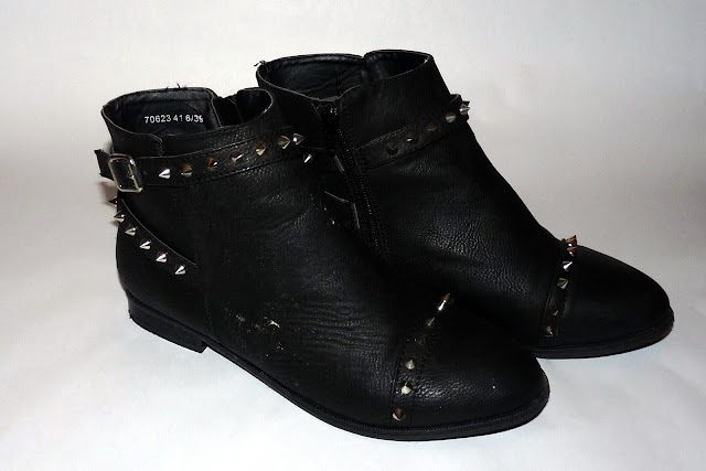 Primark Size 6 Black Boots