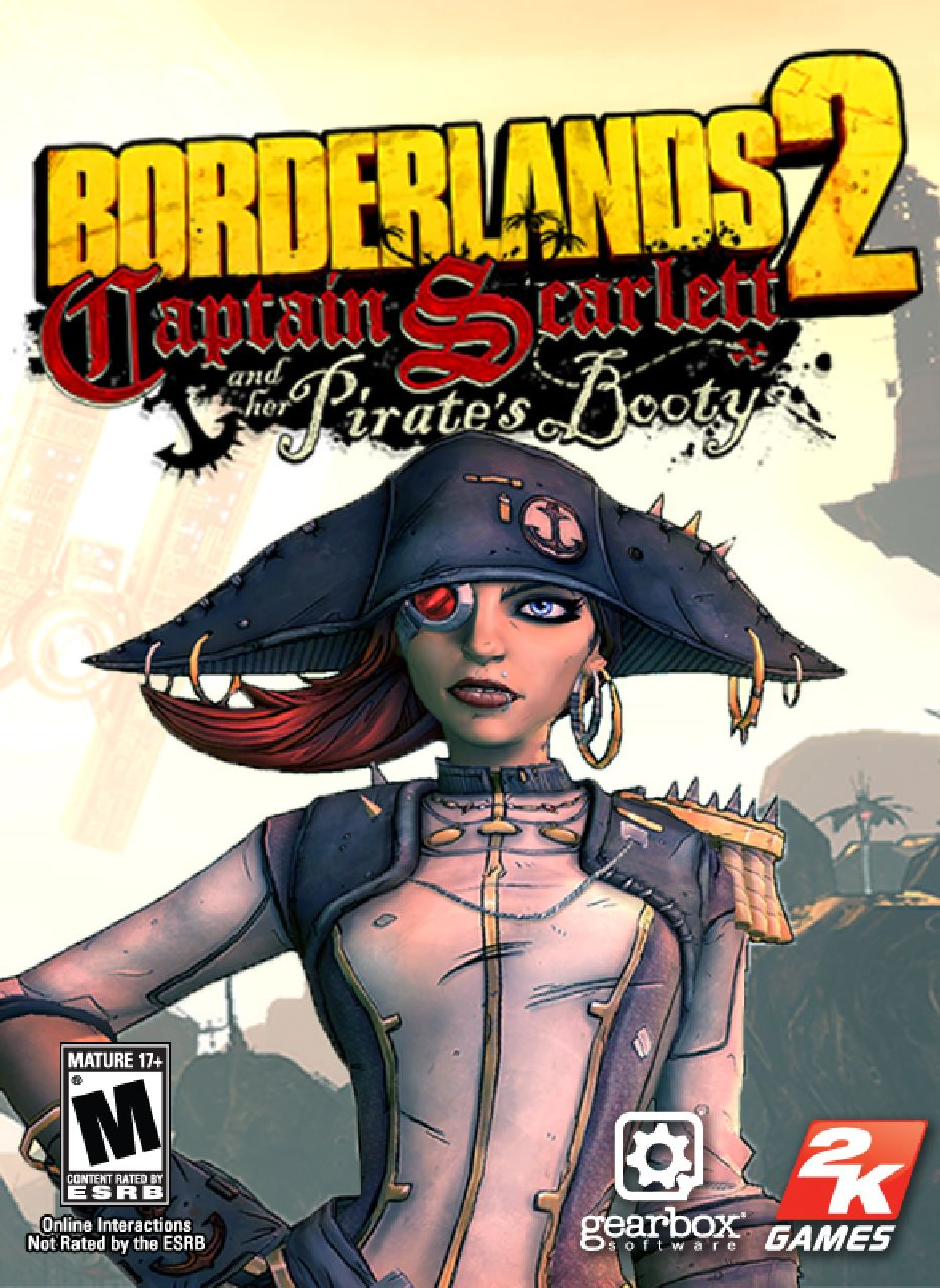 Games borderlands 2 captain scarlett and her pirates booty dlc
