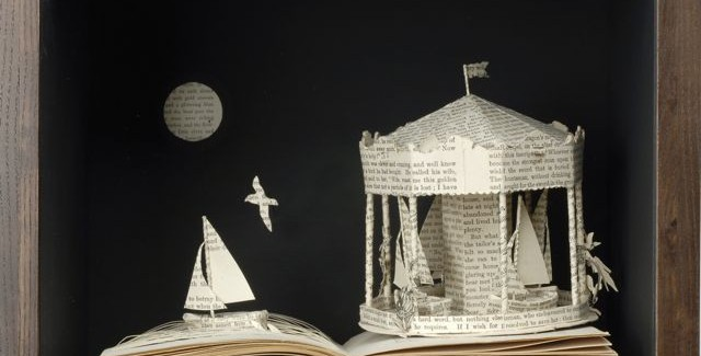 Creative Book Sculptures By Su Blackwell