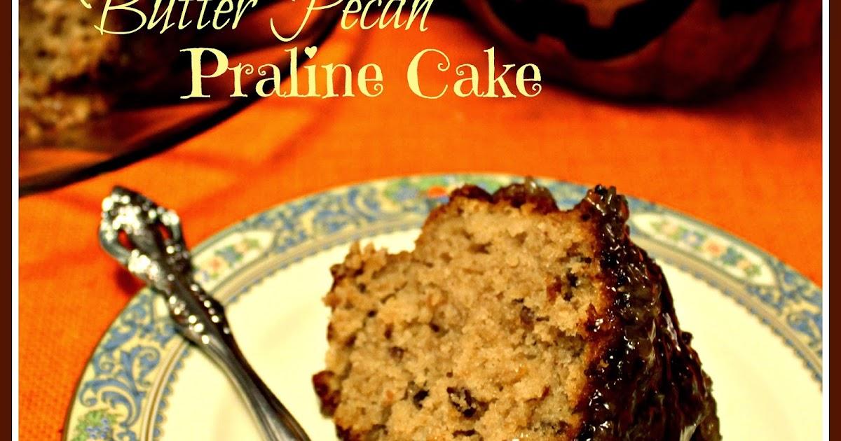 Sweet Tea And Cornbread Butter Pecan Praline Cake