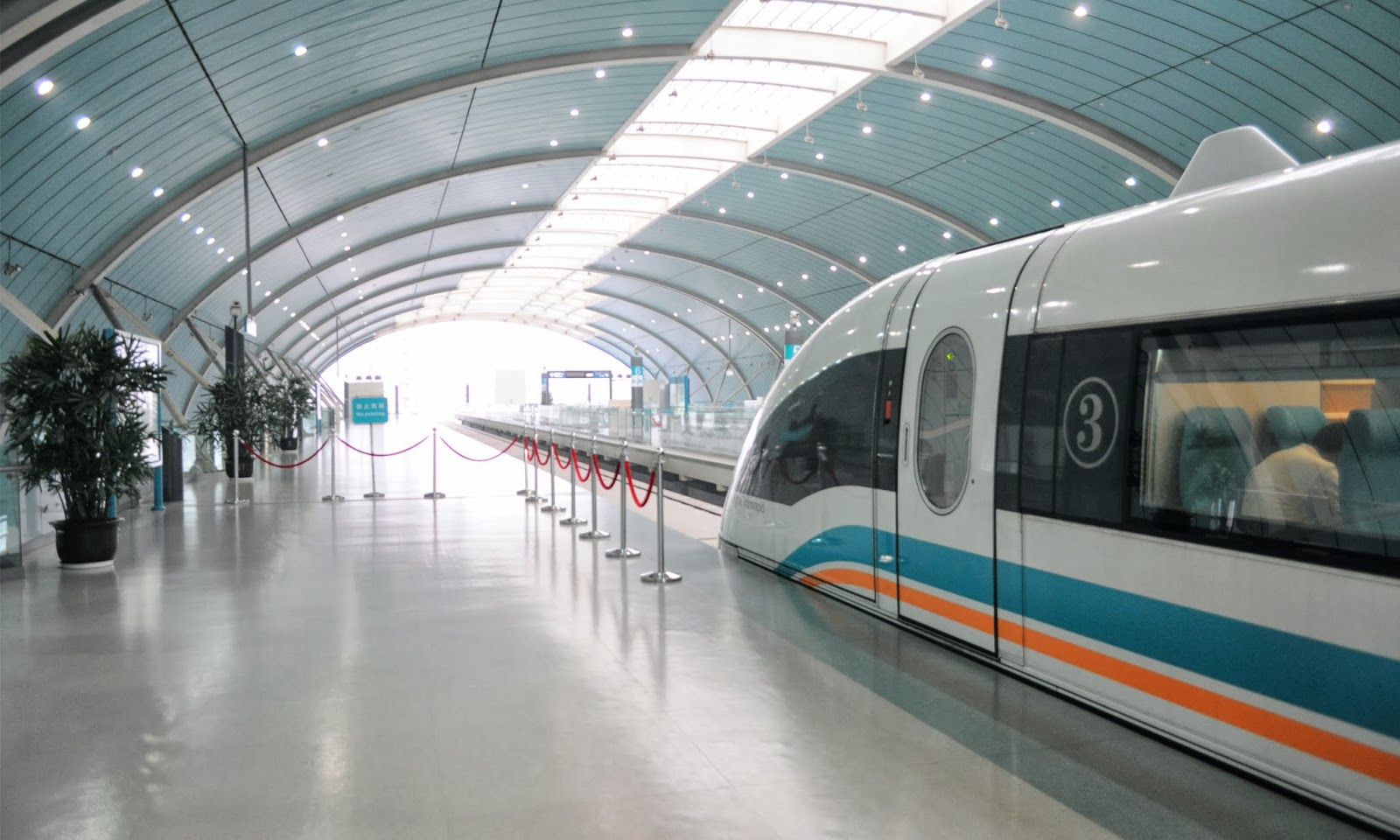 maglev trains What role does electricity play in powering maglev trains answer: electricity is used to create electromagnets the electromagnets are used on the track for a maglev train.