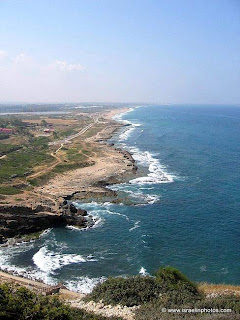 View from Rosh HaNikra