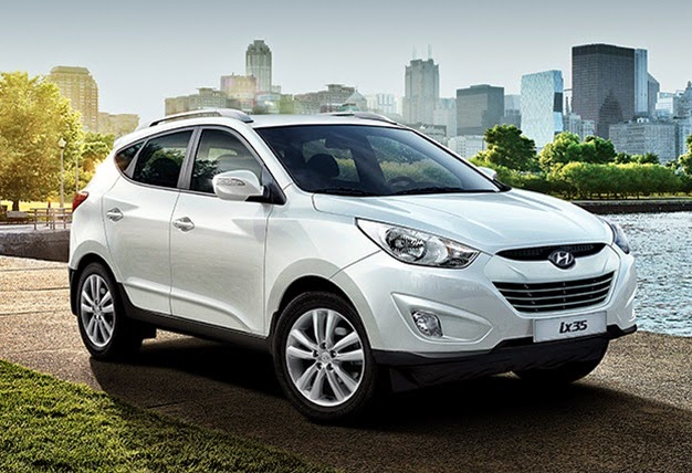 Novo Hyundai Ix35 branco