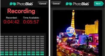 añade sonidos a tus fotos con Photoblab - www.dominioblogger.com