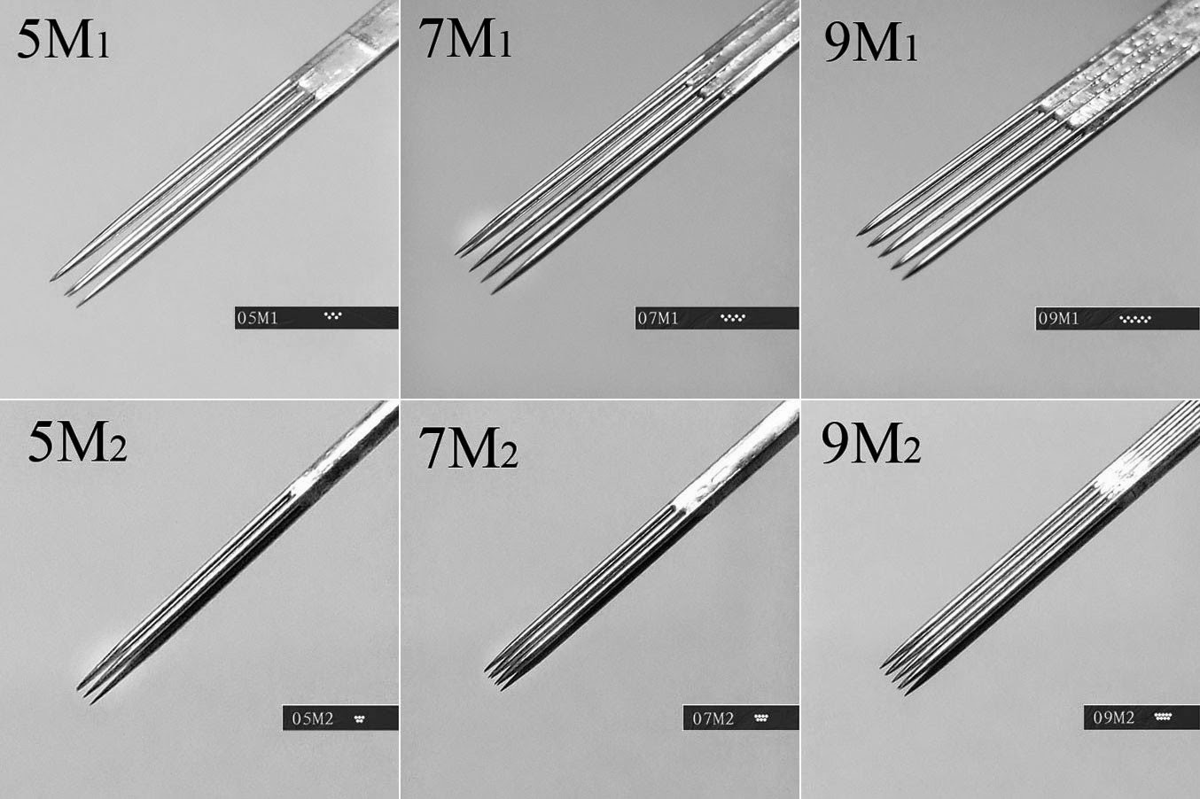 Tattoo Needles Sizes And Purposes