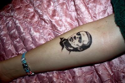 Tatuaje de Steve Buscemi