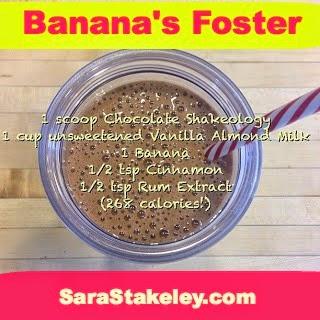 Banana's Foster Shakeology
