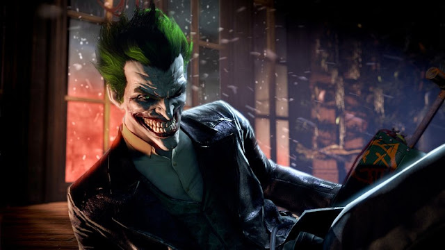 Image of the Joker as he appears in Batman: Arkham Origins