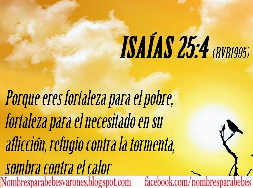 QUE SIGNIFICA EL NOMBRE ISAÍAS - NOMBRES BIBLICOS