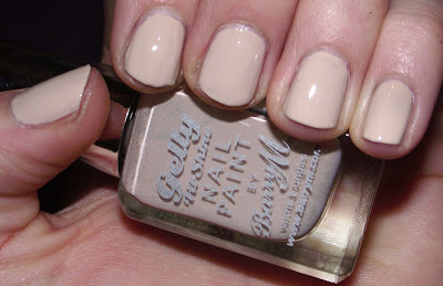 New Barry M Gelly Hi- Shine Nail Paint - 303 Lychee GNP 10 Swatch