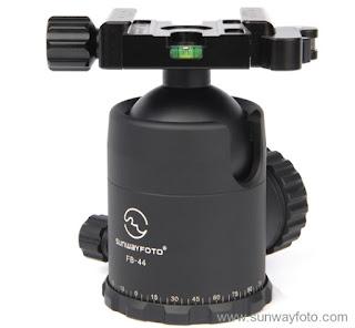 Sunwayfoto FB-44DL w/ DLC-50 Duo clamp main