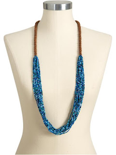 как сделать  ожерелье из полосок ткани