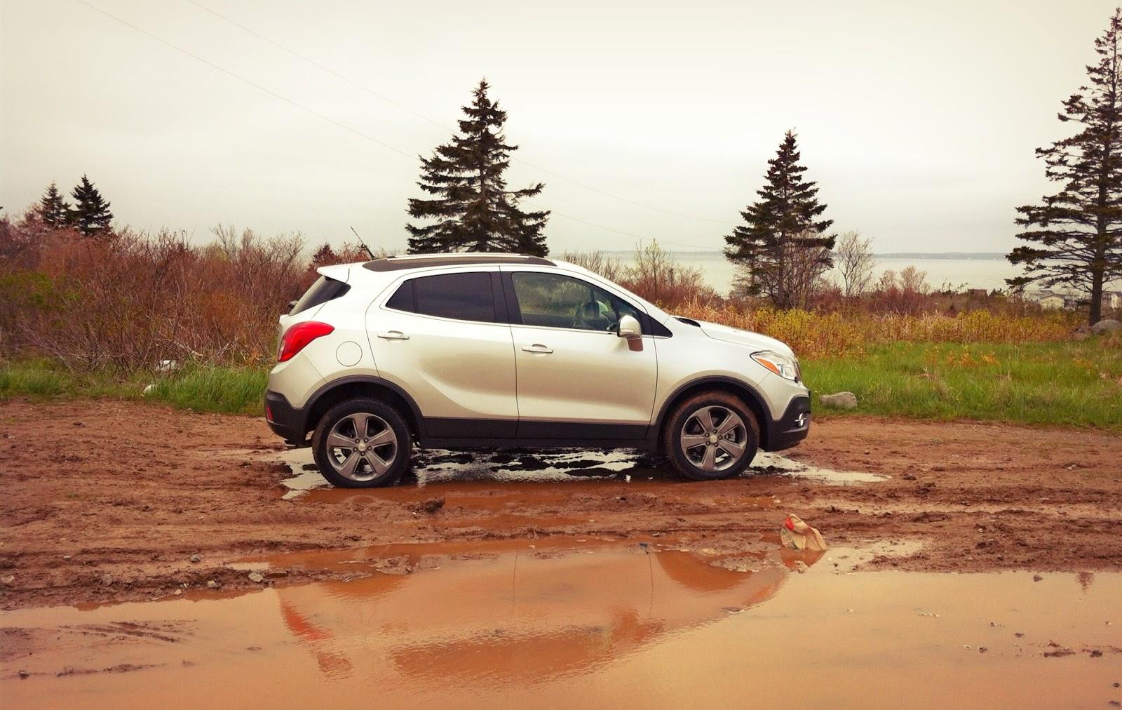 2014 Buick Encore AWD profile