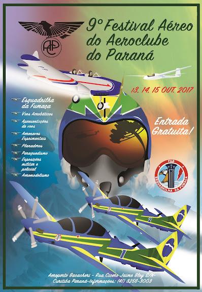 9º FESTIVAL AÉREO DO AEROCLUBE DO PARANÁ