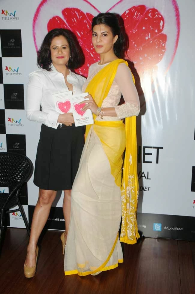 Shonali Sabherwal and Jacqueline Fernandez