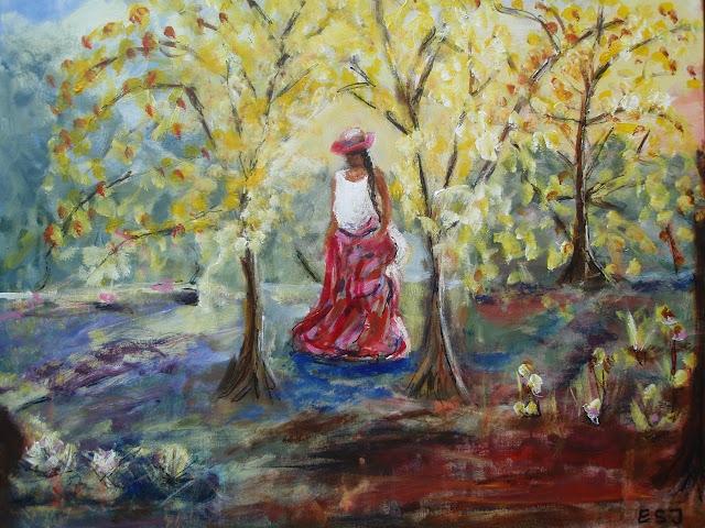 Sakitha Art, Lær mig o skov at visne glad