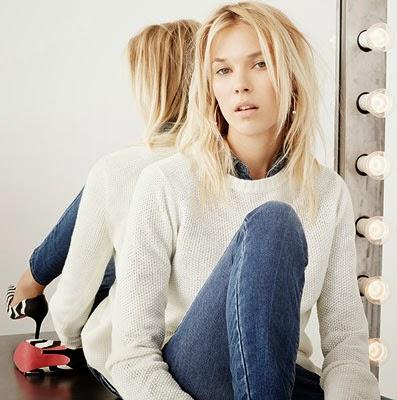 Suiteblanco coleção mulher outono inverno 2014 2015 blusa tricô calça Jeans & Denim