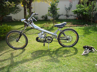 Bike Chopper Leitor Sergio Melo Moraes