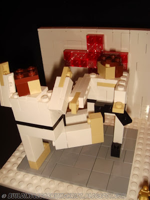 Karate LEGO Creation inspired by Karate for Christ International