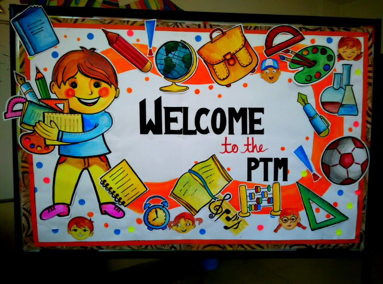 ideas and bulletin boards for elementary schools: PTM bulletin board ...