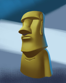 Moai_shading_studies