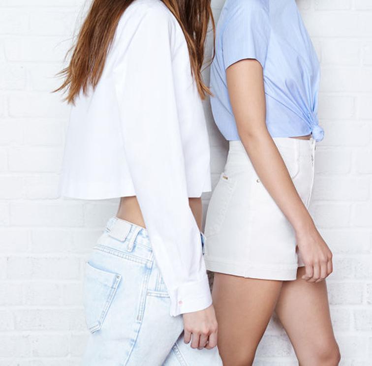 Zara spring summer 2014 look book, pastels, crop top