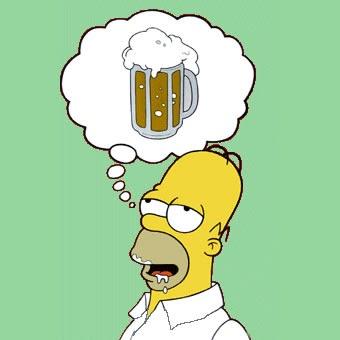 Humor oraci n a la cerveza de homero simpson - Homer simpson tout nu ...
