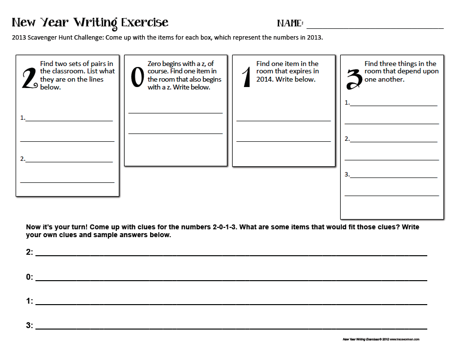 creative writing activities Find five fun creative writing exercises you might like to try with the young writers in your life.