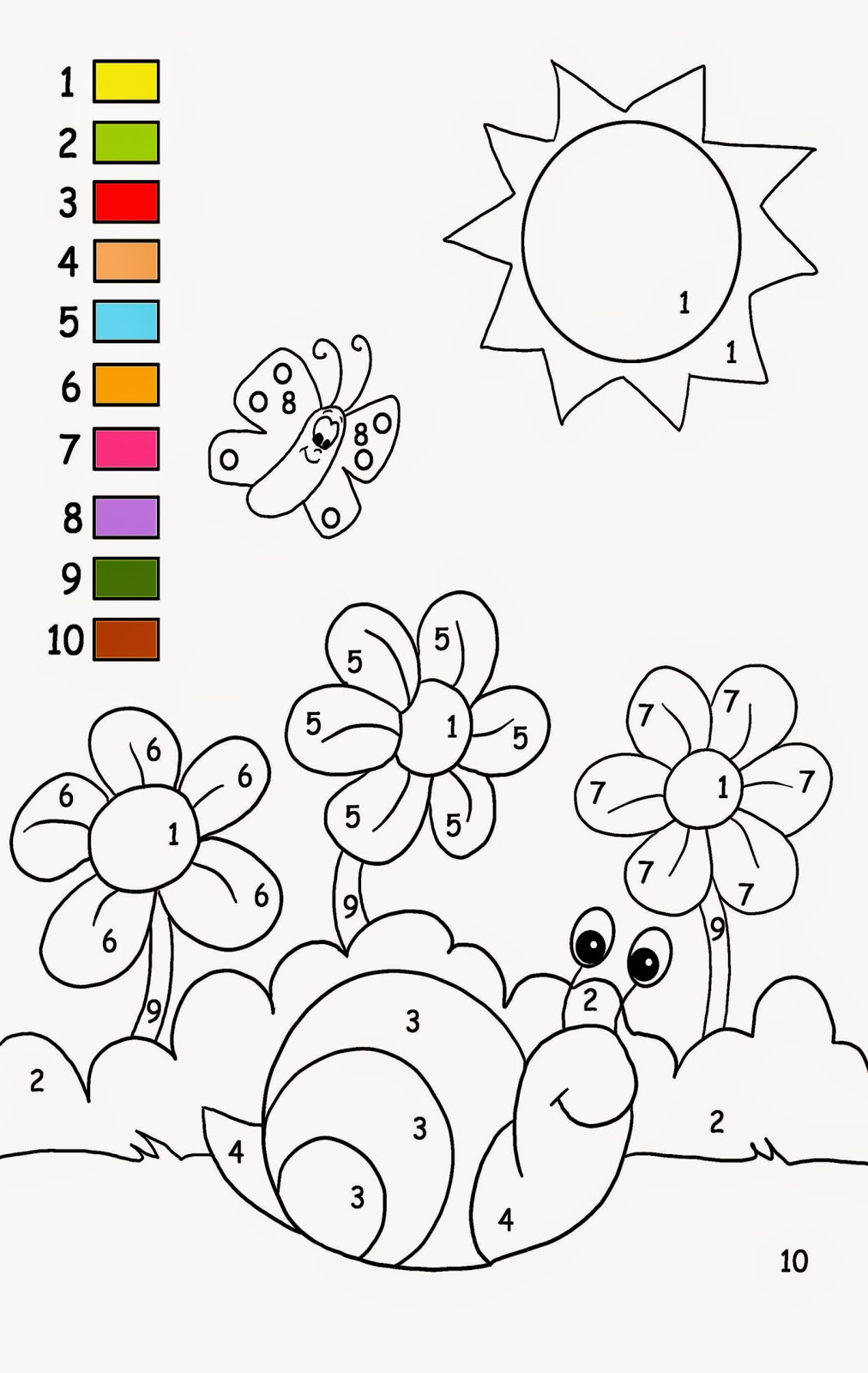 Printable Kids Activities | Free Coloring Sheet