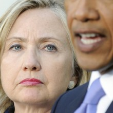 WHEW HEW!!! LOVE IT!!! Obama Throws Hillary Under The Bus – Clintons Furious  Hilary+and+obama