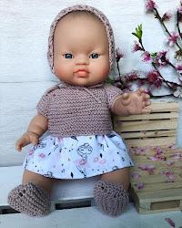 Ropita para muñecas