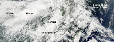 ALERTA CLIMATICA EN CHINA 27 DE MAYO 2014