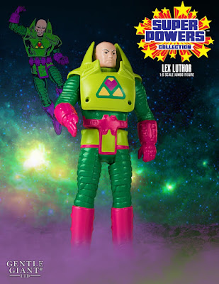 "DC Comics Super Powers Collection Lex Luthor 12"" Jumbo Vintage Action Figure by Gentle Giant"