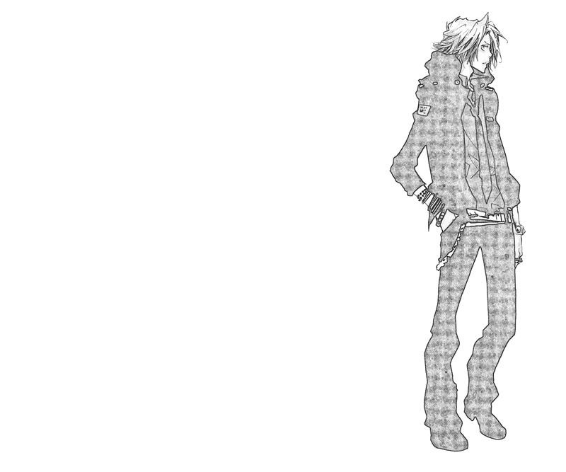 hayato-gokudera-look-coloring-pages