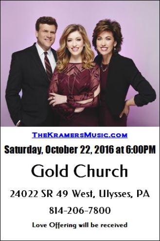 10-22 The Kramers Music, Gold Church
