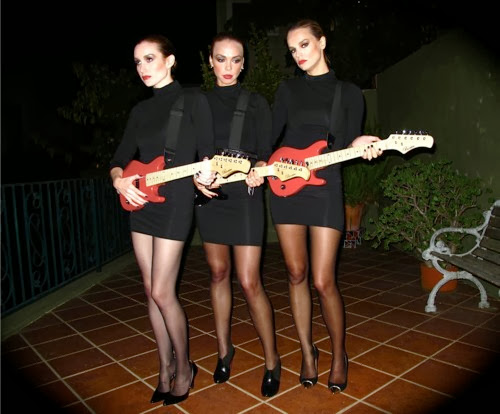 Sexy Robert Palmer Girls Costumes