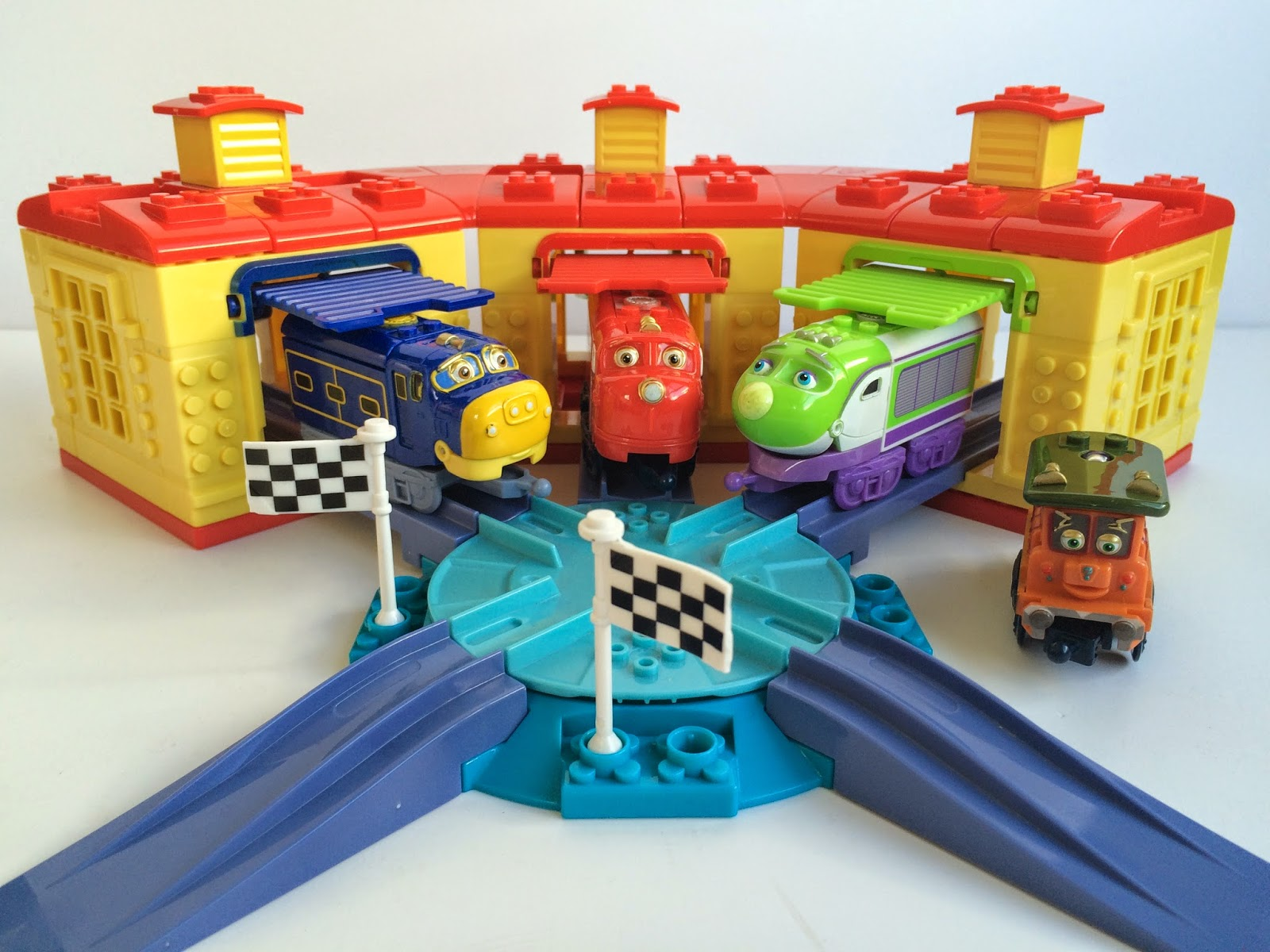 Chuggington Roundhouse from Mega Bloks