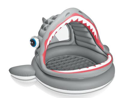 JUGUETES - Intex 57120  Piscina infantil en forma de tiburón | Para niños  Producto Oficial Verano 2015 | Comprar en Amazon
