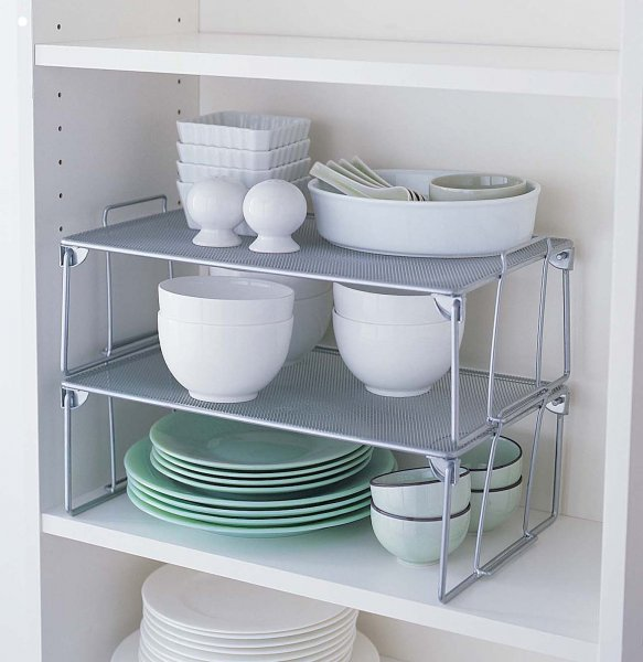 Kitchen Cabinet Shelf Organizer