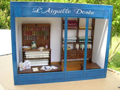Aiguille Dorée,Mercerie,Miniature